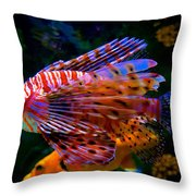 Just Cruising Along Throw Pillow