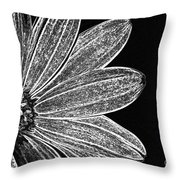 Just One Side Throw Pillow