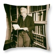 Justice Oliver Wendell Holmes 1924 Throw Pillow