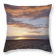 Kailua Sunset Throw Pillow