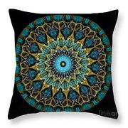 Kaleidoscope Steampunk Series Throw Pillow