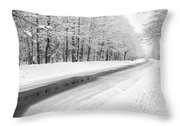Kancamagus Scenic Byway - White Mountains New Hampshire Usa Throw Pillow
