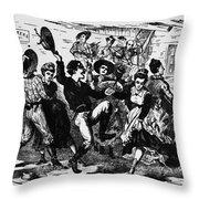 Kansas: Dance Hall Throw Pillow
