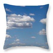 Kansas Sky Throw Pillow