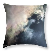 Kansas Storm On The Rise II Throw Pillow