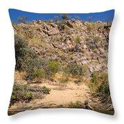 Katherine Gorge Landscapes Throw Pillow