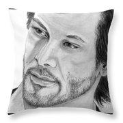 Keanu Reeves Throw Pillow
