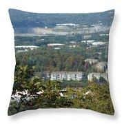 Kennesaw Battlefield Mountain Throw Pillow