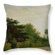 Kensington Gardens Throw Pillow