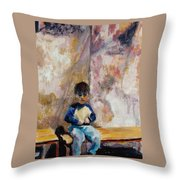 Kind Of Blue Throw Pillow