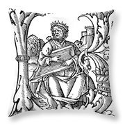 King David (d Throw Pillow