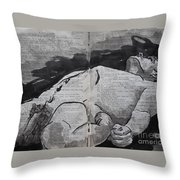 King Lear 993 Throw Pillow