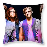 Kings Of Leon Throw Pillow