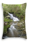 Kinsman Notch - Woodstock New Hampshire Throw Pillow