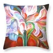 Kiss Of The Valley Throw Pillow