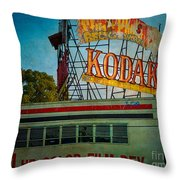 Kodak's Moment Throw Pillow