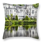 Kylemore Abbeycounty Galway Ireland Throw Pillow