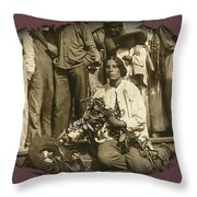 La Destroyer Helped Those Fallen In Battle C.1915-2013 Throw Pillow