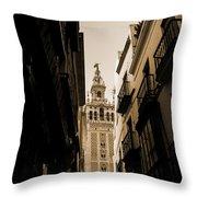 La Giralda - Seville Spain Throw Pillow