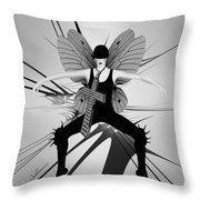 Lady D 4 Throw Pillow