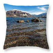 Lago Di Pusiano Throw Pillow