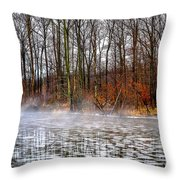 Lake Galena Doylestown Throw Pillow