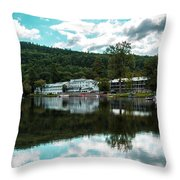 Lake Morey Inn And Resort Throw Pillow