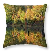Lake Wedowee Alabama Throw Pillow