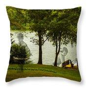 Lakeside Dreams Throw Pillow