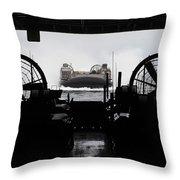 Landing Craft Air Cushion Approaches Throw Pillow