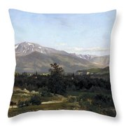 Landscape In Dauphine Throw Pillow