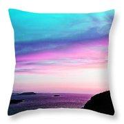 Landscape - Sunset Throw Pillow