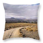 Lanzarote Throw Pillow