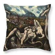 Laocoon Throw Pillow