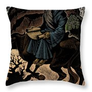 Laozi, Ancient Chinese Philosopher Throw Pillow