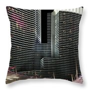 Las Vegas Lights Nevada Throw Pillow
