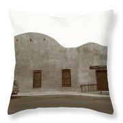 Las Vegas New Mexico Church Throw Pillow