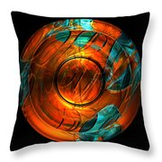 Late Action 152 Throw Pillow