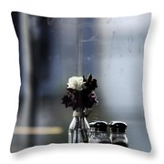 Late Date  Throw Pillow