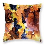 Late Harvest 3 Throw Pillow