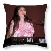 Laura Nyro Throw Pillow