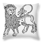 Leo Throw Pillow