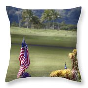 Lest We Forget V2 Throw Pillow