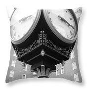 Liberty Mutual Clock Throw Pillow