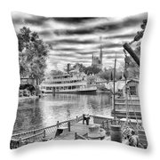 Liberty Square Riverboat Throw Pillow
