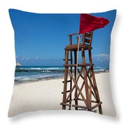 Lifeguard Throw Pillow