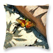 Light And Shadow Throw Pillow by Debbie Sikes
