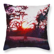 Light Grounding Throw Pillow