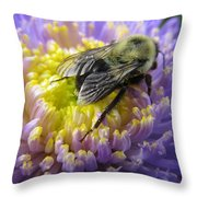 Light Nectar Throw Pillow