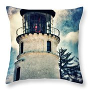 Lighthouse  Throw Pillow